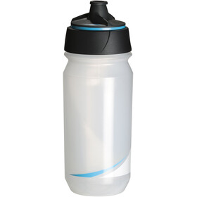 Tacx Shanti Twist Drinking Bottle 500ml, transparent/blue
